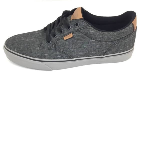 7a3df3c0be VANS Men s Atwood Deluxe Ultra Cush Sneaker 11.5. M 5b8c1fd525457a637ffc0118